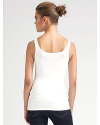 Loeffler Randall - Gray Knit Neck Coat - Lyst