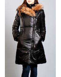 Mackage | Black Liz Puffy with Fur | Lyst