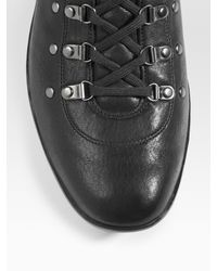 Prada | Black Hiking Boots for Men | Lyst