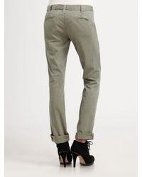 Rag & Bone | Green Loose-fit Chino Pants | Lyst