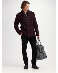 Rag & Bone | Purple Flint Cardigan for Men | Lyst