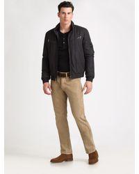Ralph Lauren Black Label | Black Loft Tech Bomber Jacket for Men | Lyst