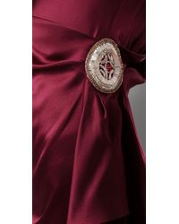 Temperley London - Purple Mini Felisa Dress - Lyst