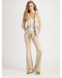 Twisted Heart | Natural Embellished Cotton Sweatpants | Lyst