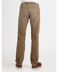 Vince - Green Plaid Flannel Shirt for Men - Lyst