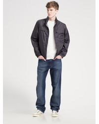 Zegna Sport | Gray Light Shell Jacket for Men | Lyst