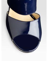 Akris Punto - Blue Long Sleeve Two-button Jacket - Lyst