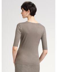 Akris Punto - White Front-zip Jacket - Lyst