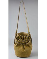 Alexander Wang - Yellow Diego Bucket Bag - Lyst