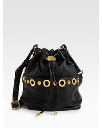Badgley Mischka - Black Erin Drawstring Bag - Lyst