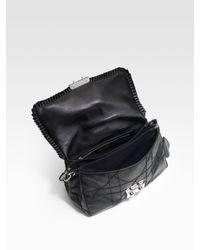 Dior - Black New Lock Small Flap Bag - Lyst