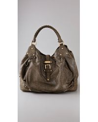 Halston | Green Brandy Stingray Satchel | Lyst