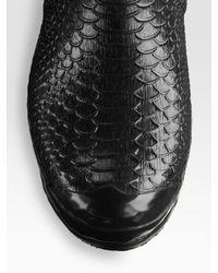 HUNTER - Black Boa Short Rain Boots - Lyst