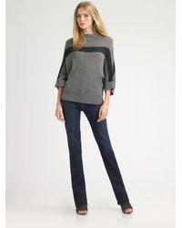 James Perse | Gray Cashmere Kimono Sweater | Lyst