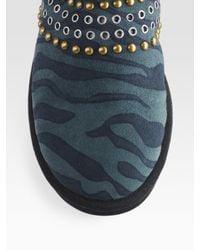 Jimmy Choo | Multicolor Ugg For Kaia Zebra Print Sheepskin Boots | Lyst