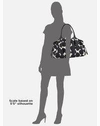 kate spade new york   Black Stevie Splodge Dot Baby Bag   Lyst