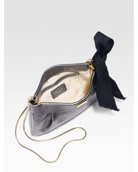 kate spade new york - Metallic Agatha Chain Mini Crossbody Bag - Lyst