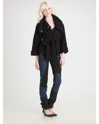 Marc By Marc Jacobs - Black Fanny Belted Sweater - Lyst