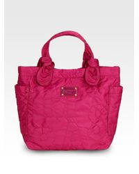 Marc By Marc Jacobs | Pink Pretty Nylon Small Tate Tote | Lyst