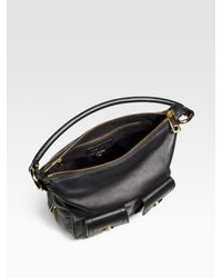 Marc Jacobs | Black Classic Multipocket Leather Hobo | Lyst