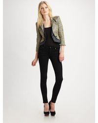 McQ | Green Tweed Jacket | Lyst