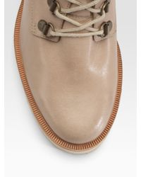 Rachel Comey - Natural Miner Lace-up Ankle Boots - Lyst