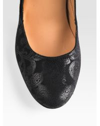 Repetto - Black Gitane Suede Mary Jane Pumps - Lyst