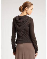 Rick Owens Lilies - Brown Convertible Strapless Dress & Skirt - Lyst