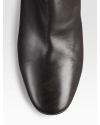 Sergio Rossi - Brown Over-the-knee Wedge Boots - Lyst