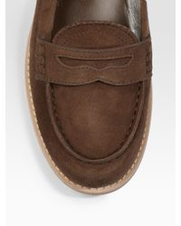 Tod's - Brown Ivy Mocassino - Lyst