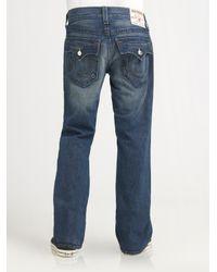 True Religion - Black Billy Bootcut Jeans for Men - Lyst
