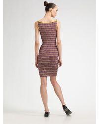 Z Spoke by Zac Posen | Purple Boatneck Knit Dress | Lyst