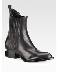 Alexander Wang | Black Anouck Beatle Boot | Lyst