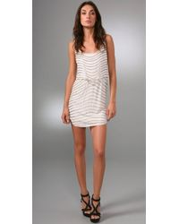 Alice + Olivia | White Gabby Embellished Dress | Lyst