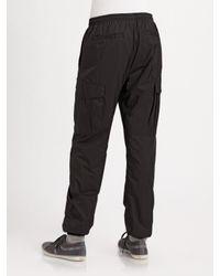 Burberry Sport   Gray Zip-sleeve Nylon Hoodie for Men   Lyst