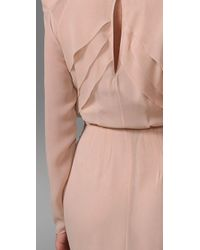 By Malene Birger | Pink Roduch Long Sleeve Gown | Lyst
