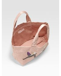 Marc By Marc Jacobs - Pink Miss Marc Save The Birds Cotton Tote - Lyst
