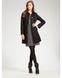 Tory Burch | Black Trench Coat | Lyst