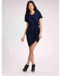 Gryphon | Blue Knot Dress | Lyst