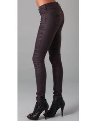 Twenty8Twelve - Brown Sienna Skinny Jeans - Lyst