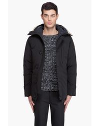 Canada Goose - Black Chateau Parka for Men - Lyst
