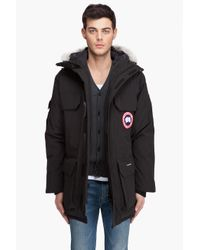 Canada Goose - Black Expedition Parka for Men - Lyst