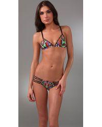 Mara Hoffman | Gray Stringy Bikini | Lyst