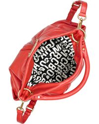 Marc By Marc Jacobs - Red Hillier Hobo Leather Shoulder Bag - Lyst