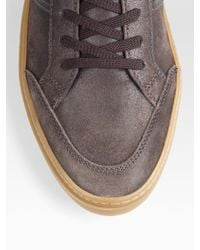 Tod's - Brown Leather Sneakers for Men - Lyst