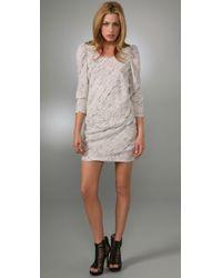 IRO | Gray Vayate Dress | Lyst