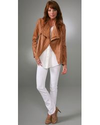 J Brand - White 12 Twill Pencil - Lyst