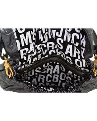 Marc By Marc Jacobs - Gray Dreamy Logo - Lil Gg Embossed Leather Shoulder Bag - Lyst