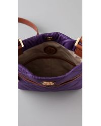 Tory Burch | Purple Alice Messenger Bag, Large | Lyst