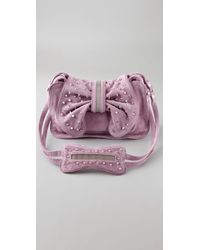 3.1 Phillip Lim | Purple Edie Bow Bag with Studs | Lyst